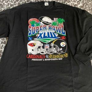 NWT Pittsburgh Steelers super bowl XLIII L/S 2XL